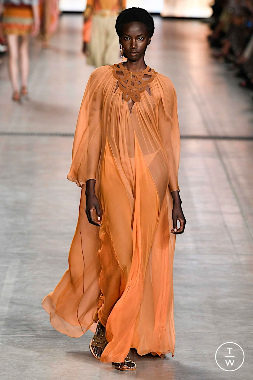 Fashion Week Milan Spring/Summer 2020 look 8 from the Alberta Ferretti collection womenswear