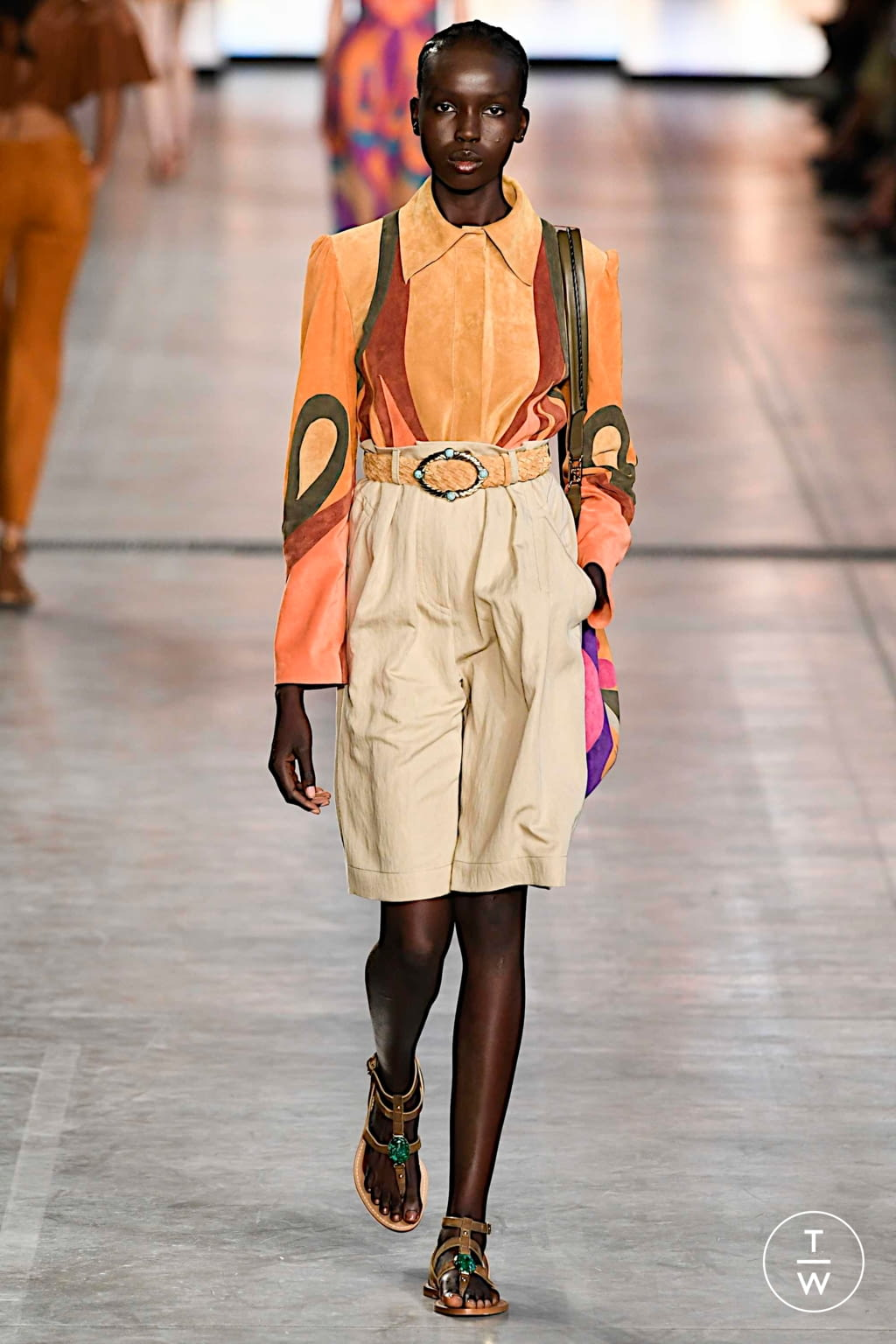 Fashion Week Milan Spring/Summer 2020 look 9 from the Alberta Ferretti collection womenswear