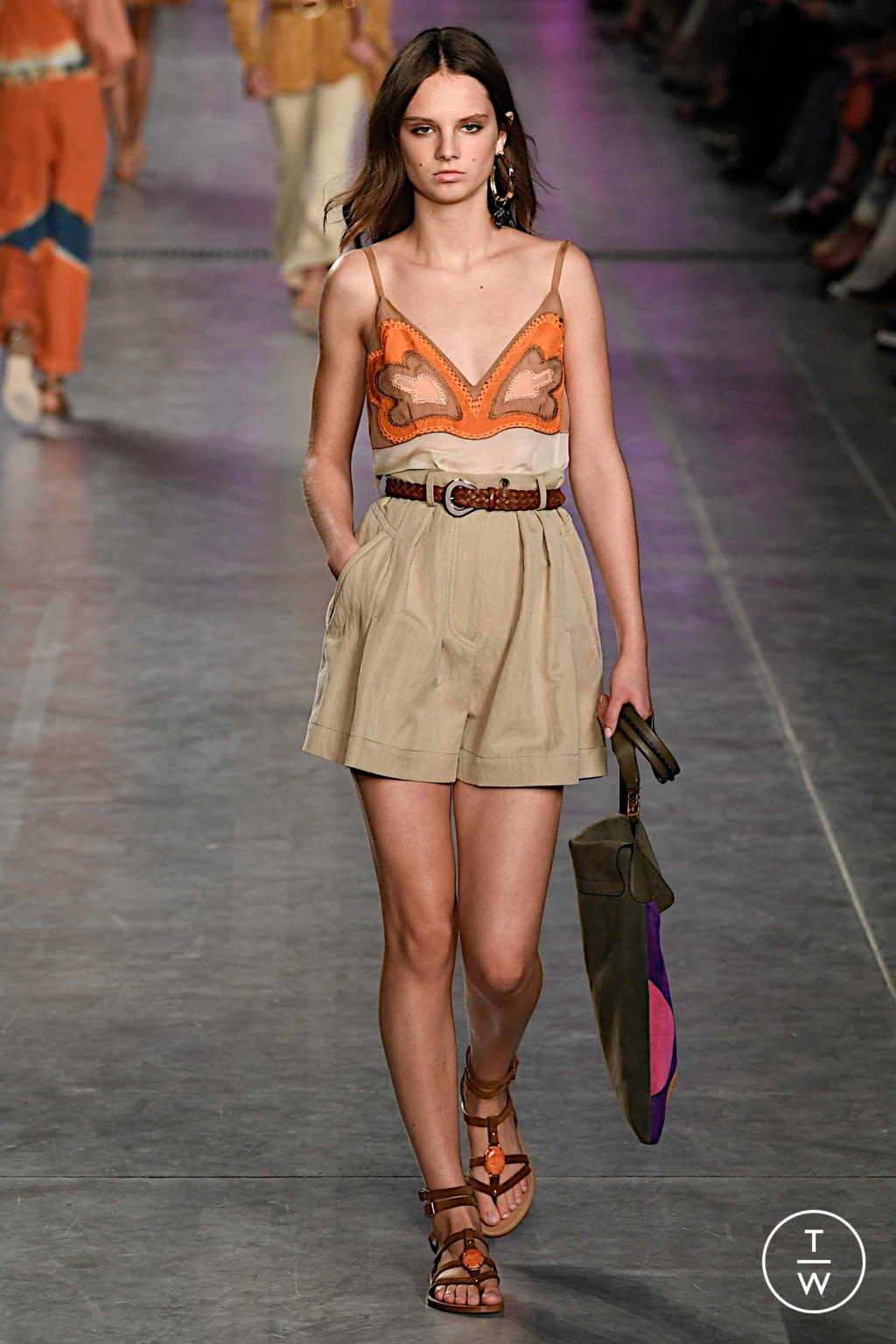 Fashion Week Milan Spring/Summer 2020 look 15 from the Alberta Ferretti collection womenswear