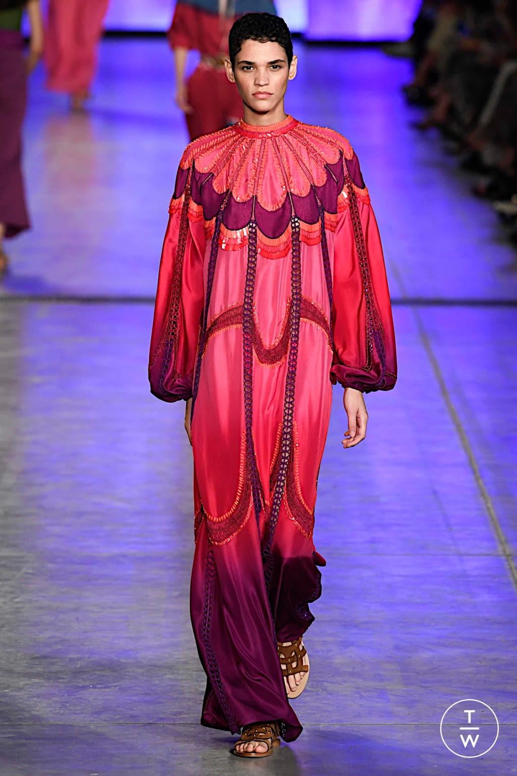 Fashion Week Milan Spring/Summer 2020 look 23 from the Alberta Ferretti collection womenswear