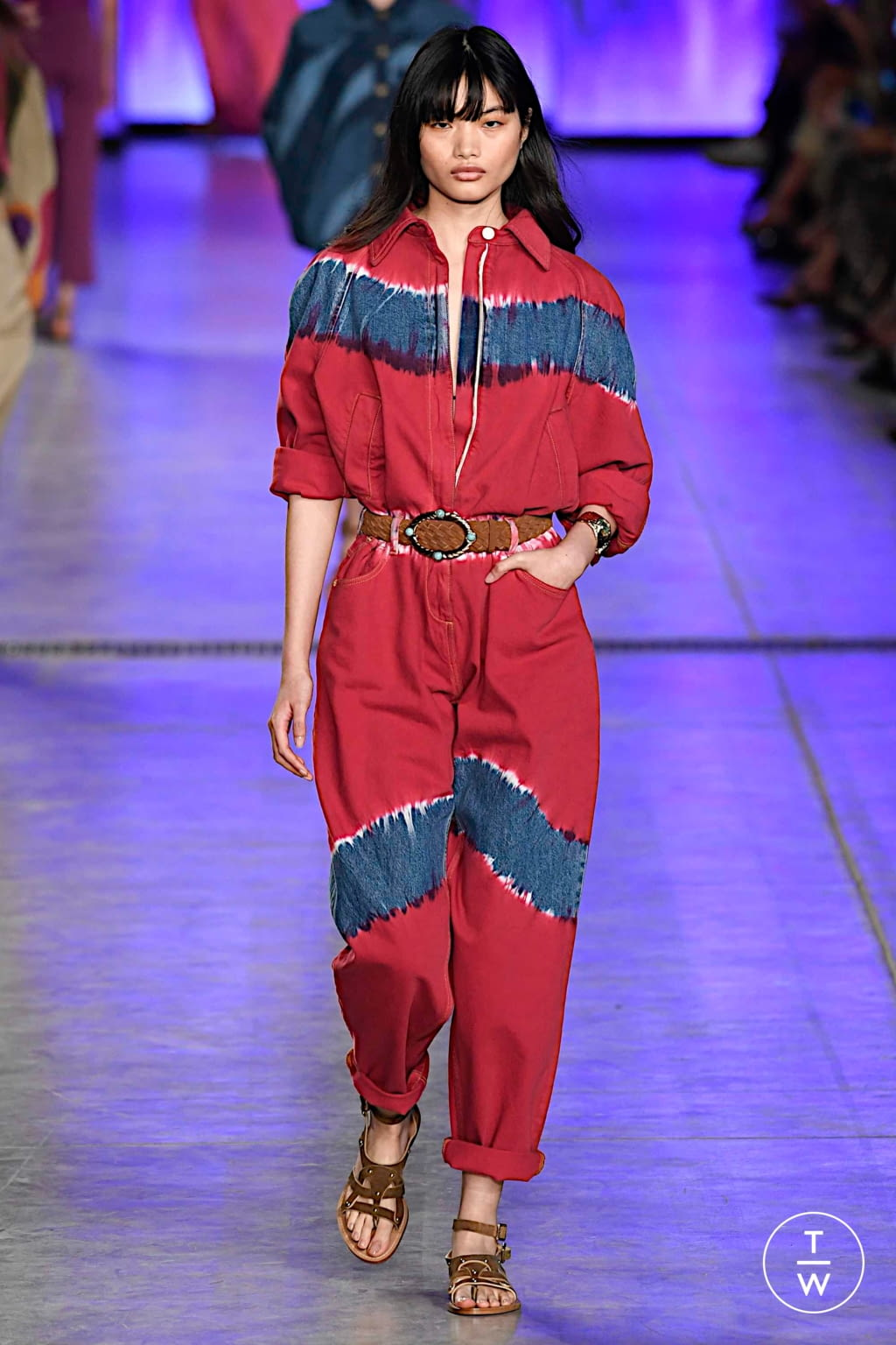 Fashion Week Milan Spring/Summer 2020 look 24 from the Alberta Ferretti collection womenswear