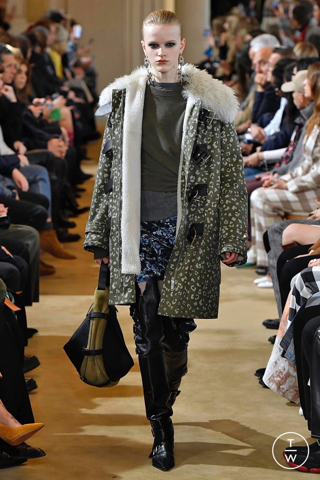 Fashion Week Paris Fall/Winter 2019 look 12 from the Altuzarra collection womenswear