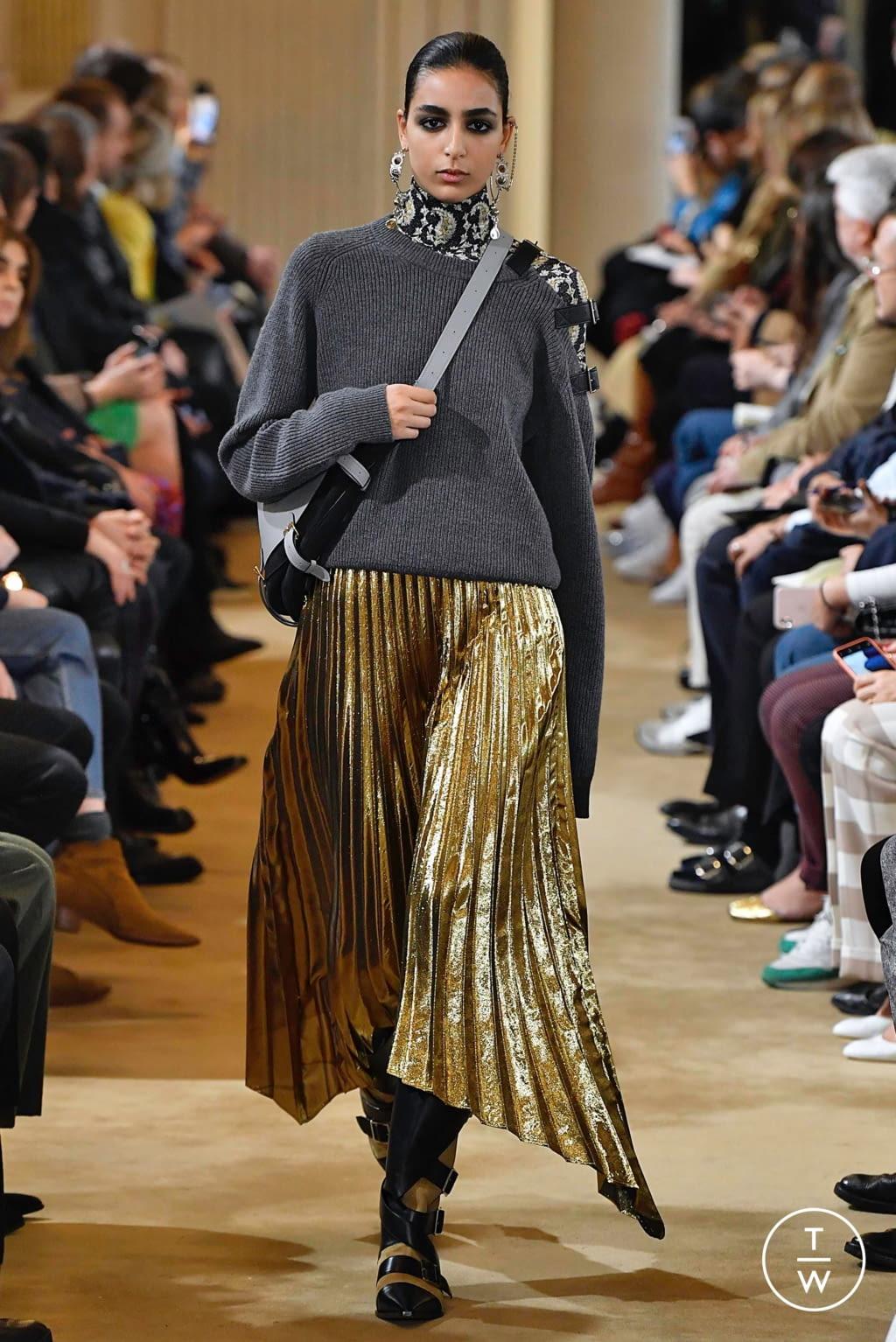 Fashion Week Paris Fall/Winter 2019 look 26 from the Altuzarra collection womenswear