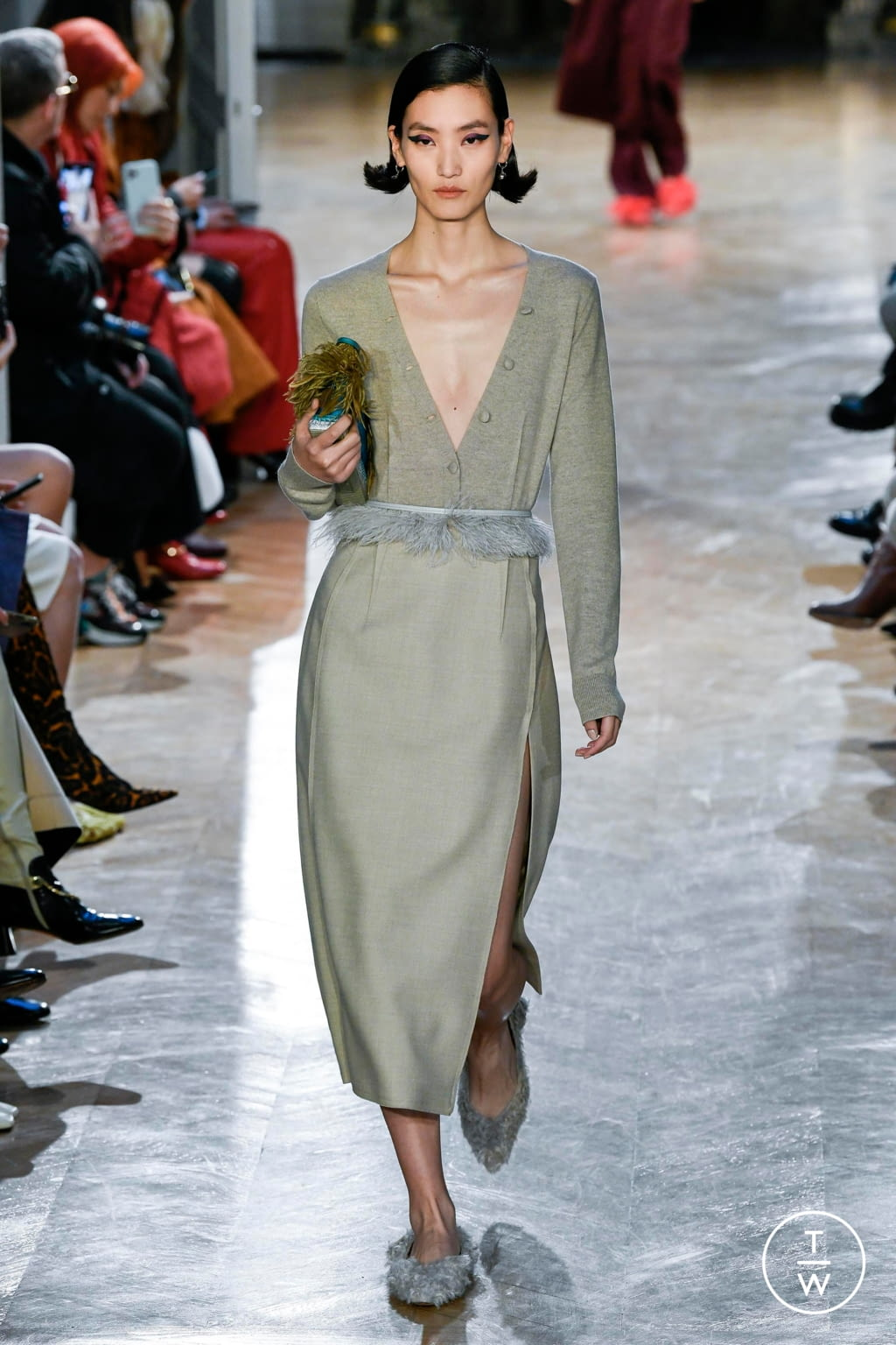 Fashion Week Paris Fall/Winter 2020 look 4 de la collection Altuzarra womenswear