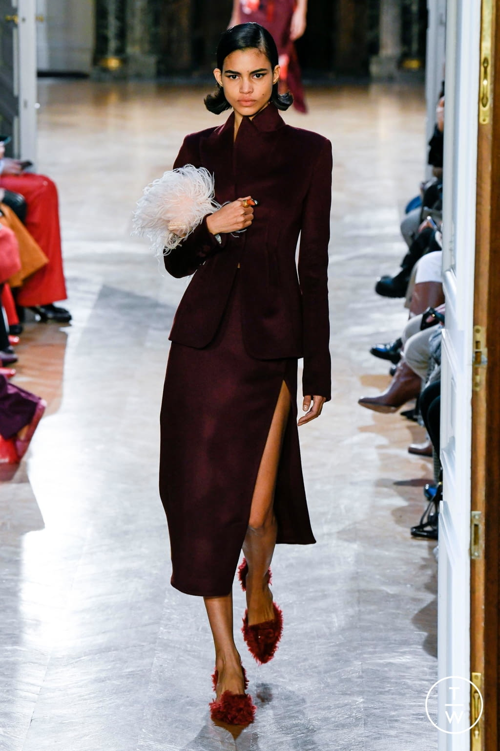 Fashion Week Paris Fall/Winter 2020 look 6 de la collection Altuzarra womenswear