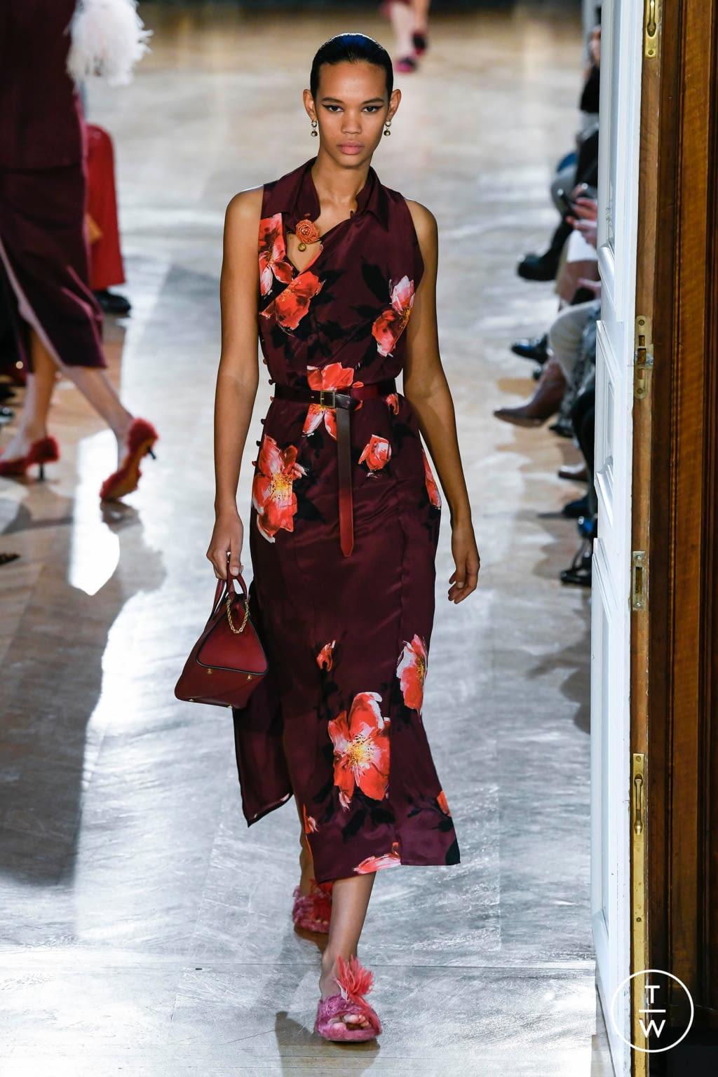 Fashion Week Paris Fall/Winter 2020 look 7 de la collection Altuzarra womenswear