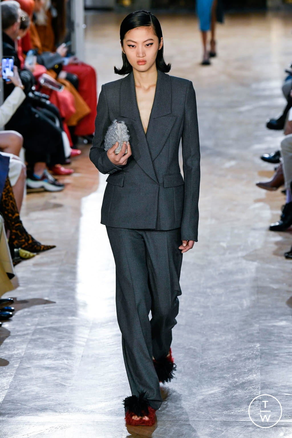 Fashion Week Paris Fall/Winter 2020 look 13 de la collection Altuzarra womenswear