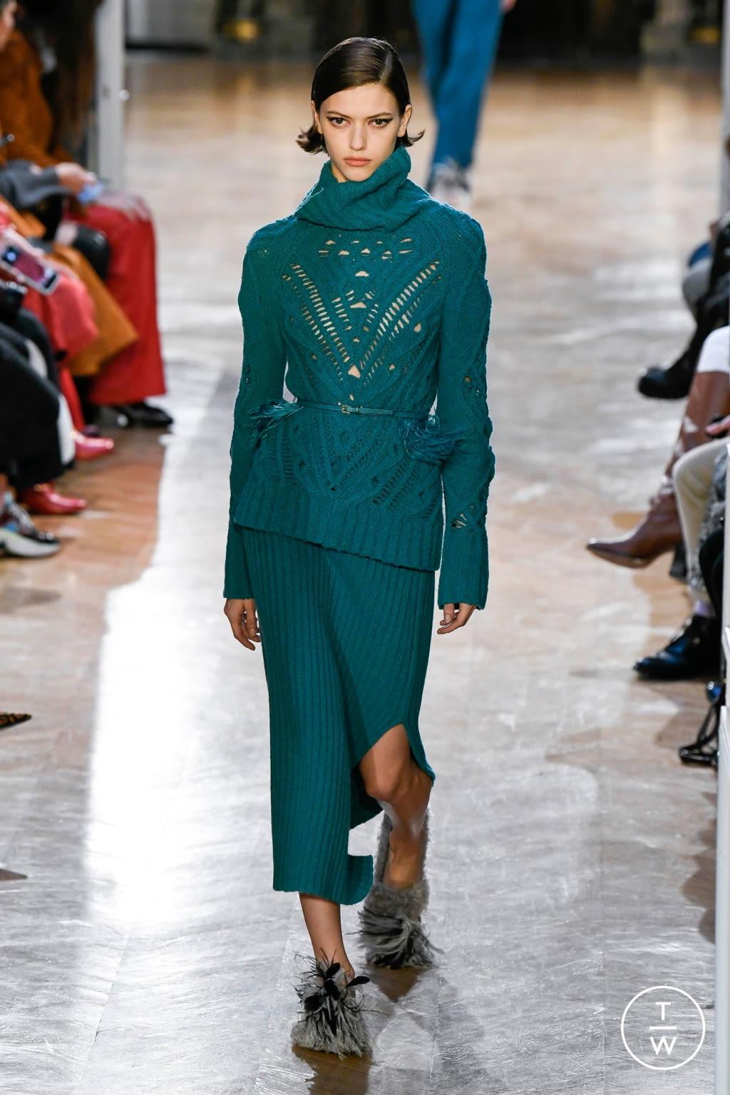 Fashion Week Paris Fall/Winter 2020 look 21 de la collection Altuzarra womenswear