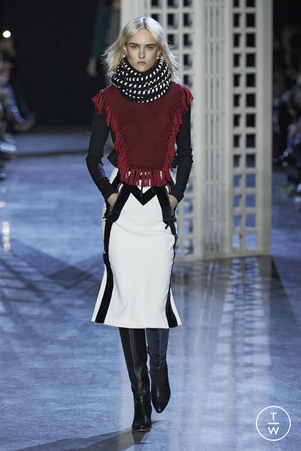 Fashion Week New York Fall/Winter 2016 look 7 from the Altuzarra collection womenswear