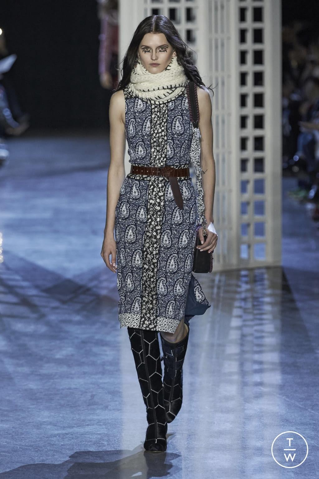 Fashion Week New York Fall/Winter 2016 look 10 de la collection Altuzarra womenswear