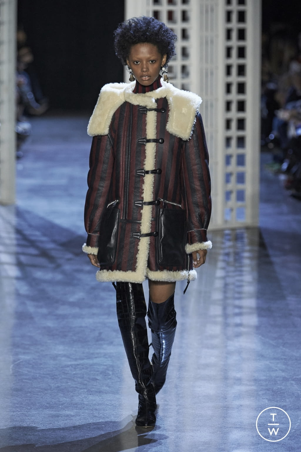 Fashion Week New York Fall/Winter 2016 look 12 from the Altuzarra collection womenswear