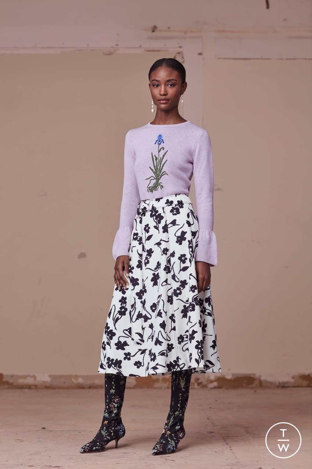 Fashion Week New York Pre-Fall 2017 look 9 from the Altuzarra collection womenswear
