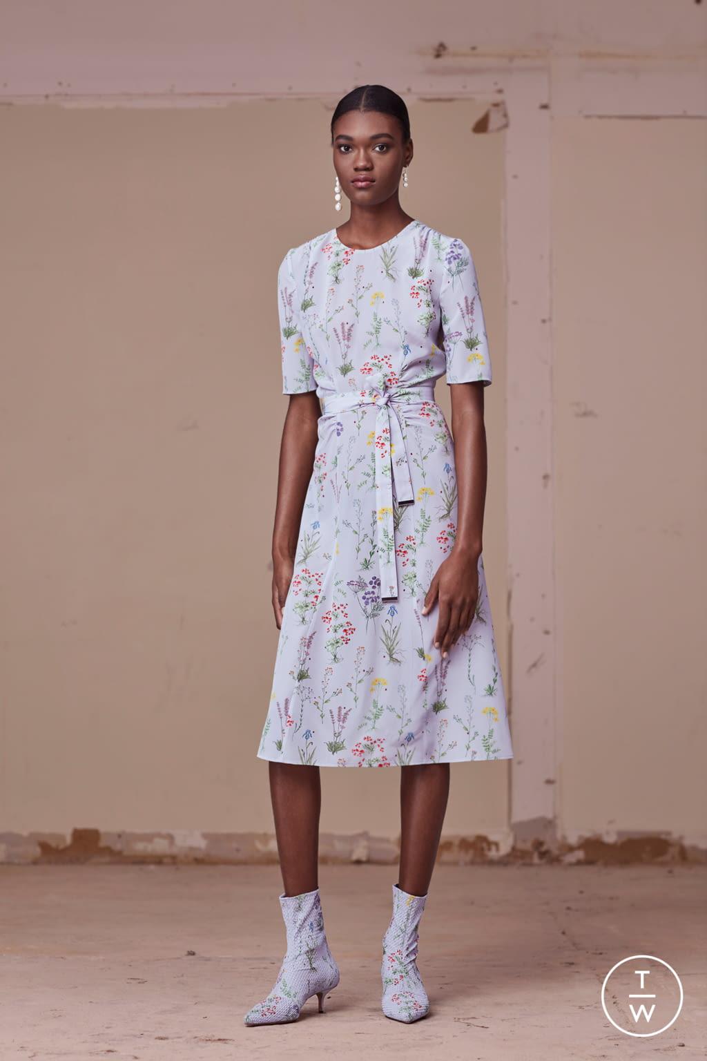 Fashion Week New York Pre-Fall 2017 look 11 from the Altuzarra collection womenswear