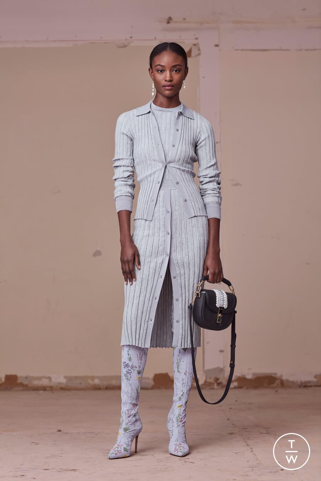 Fashion Week New York Pre-Fall 2017 look 17 from the Altuzarra collection womenswear