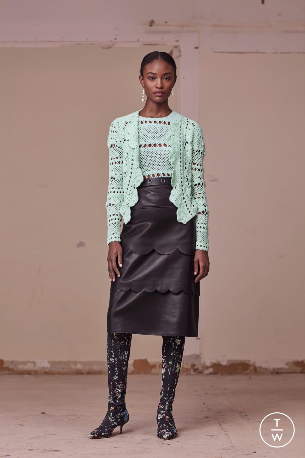 Fashion Week New York Pre-Fall 2017 look 20 from the Altuzarra collection womenswear