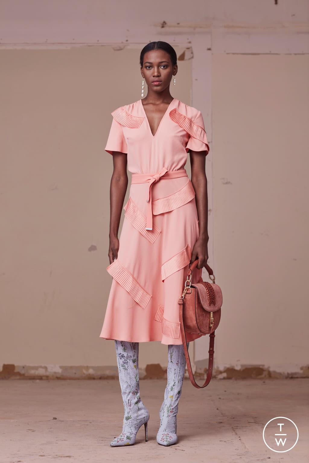Fashion Week New York Pre-Fall 2017 look 23 from the Altuzarra collection womenswear