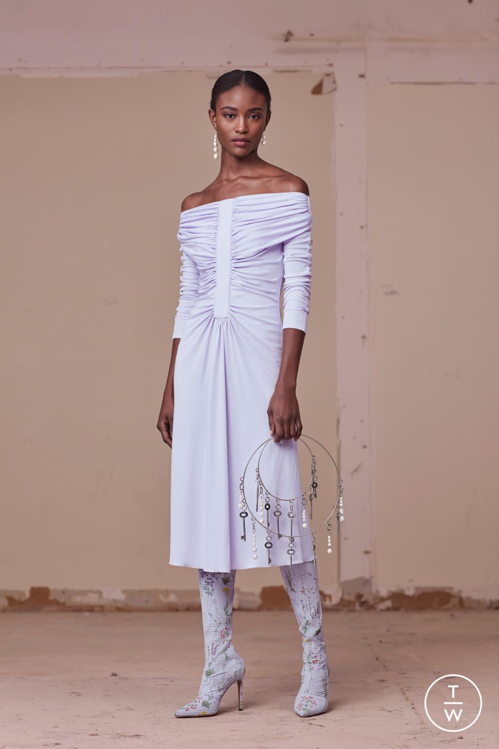 Fashion Week New York Pre-Fall 2017 look 26 from the Altuzarra collection womenswear