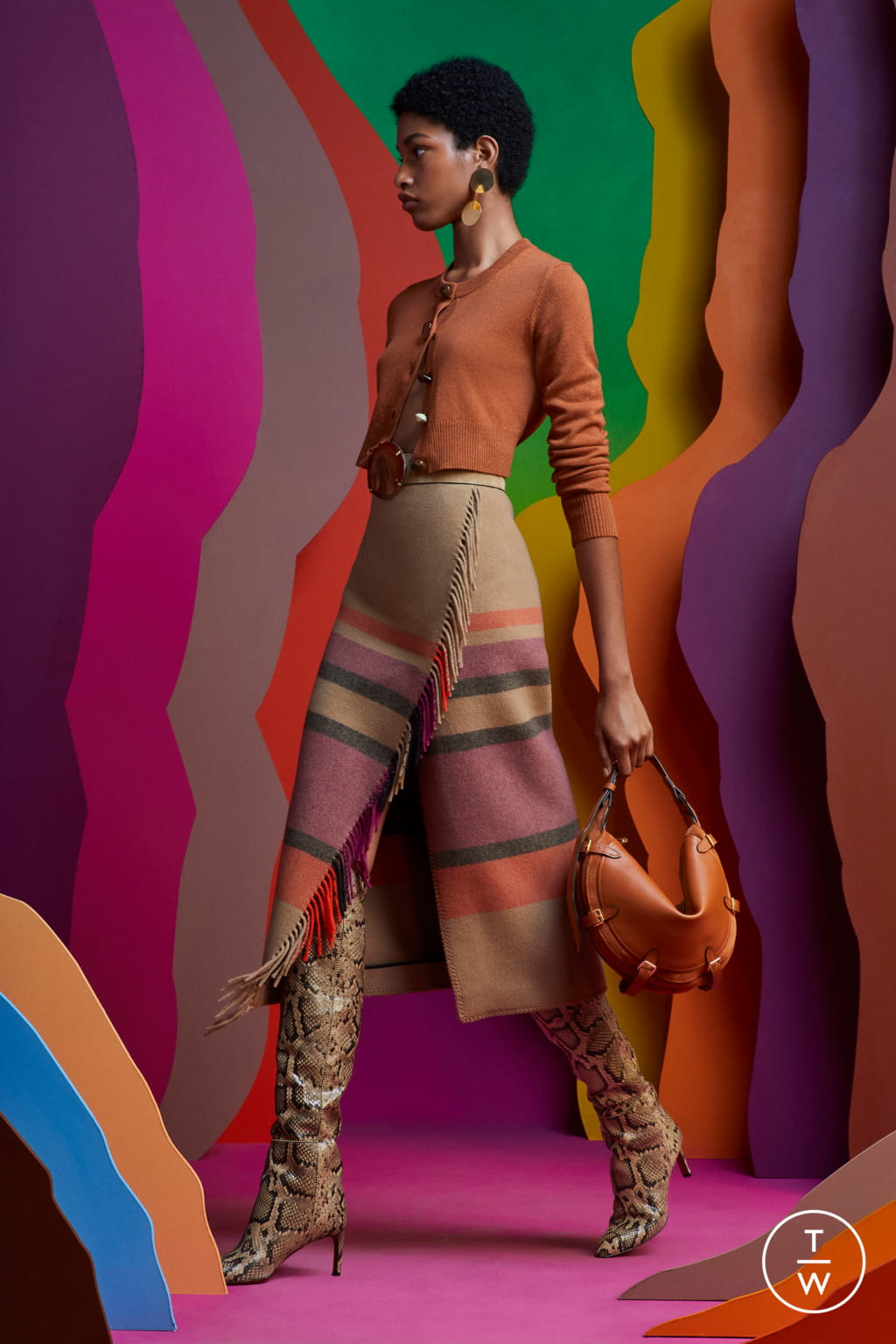 Fashion Week Paris Resort 2020 look 2 from the Altuzarra collection 女装