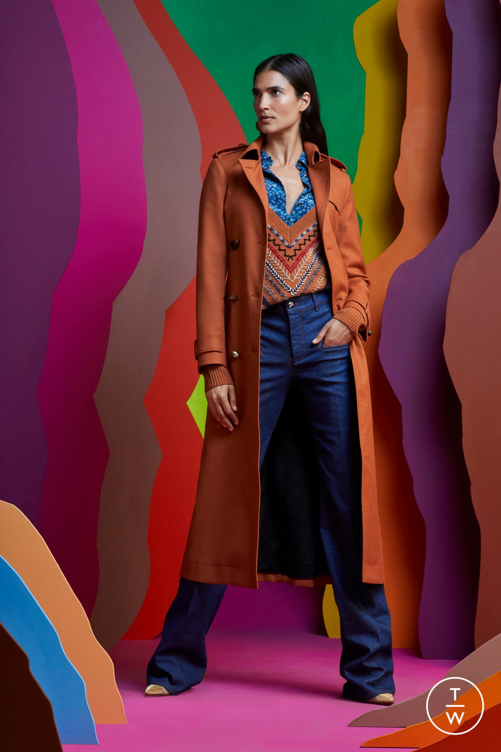 Fashion Week Paris Resort 2020 look 3 from the Altuzarra collection womenswear