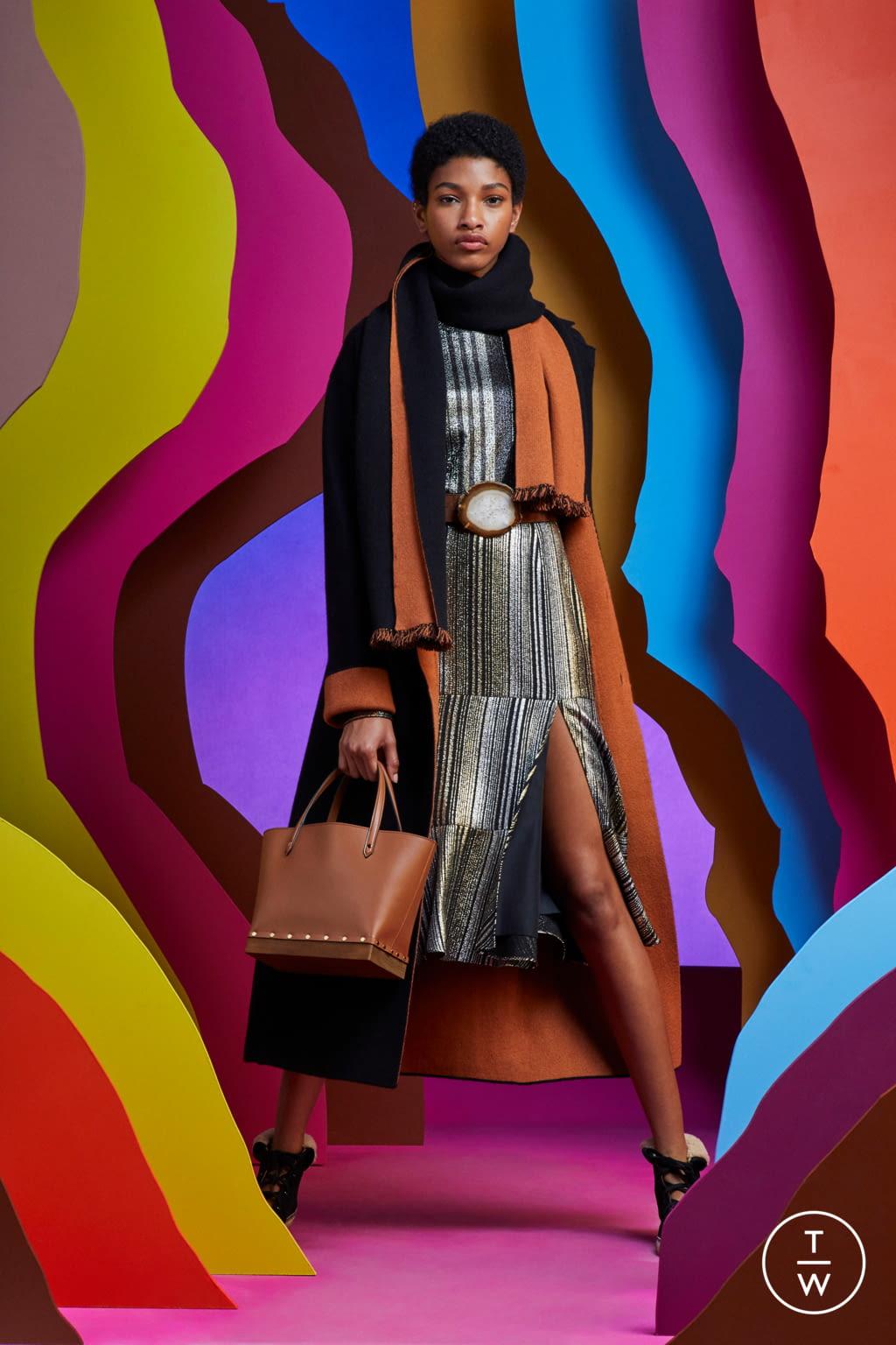 Fashion Week Paris Resort 2020 look 19 from the Altuzarra collection womenswear