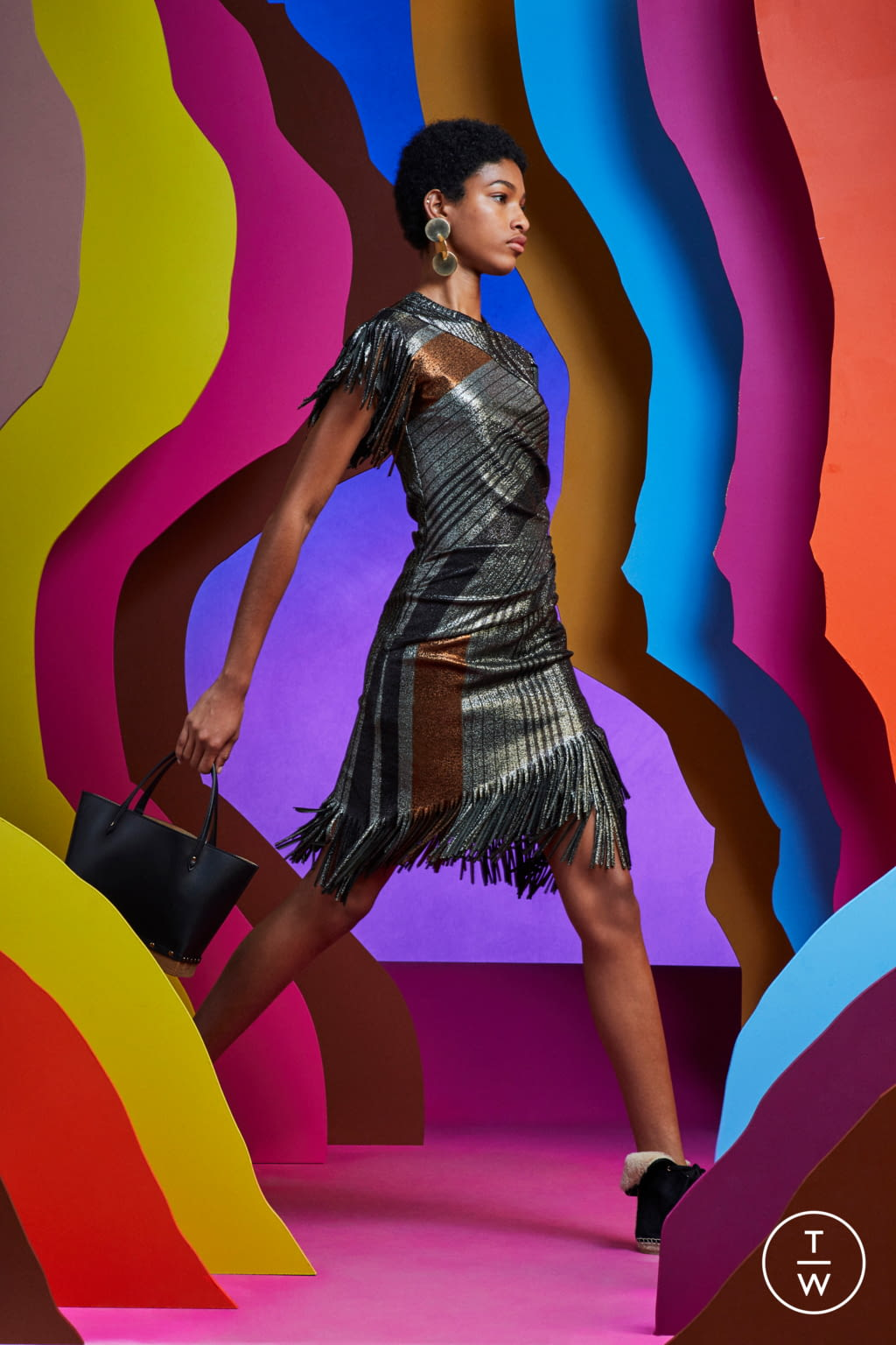 Fashion Week Paris Resort 2020 look 22 from the Altuzarra collection womenswear