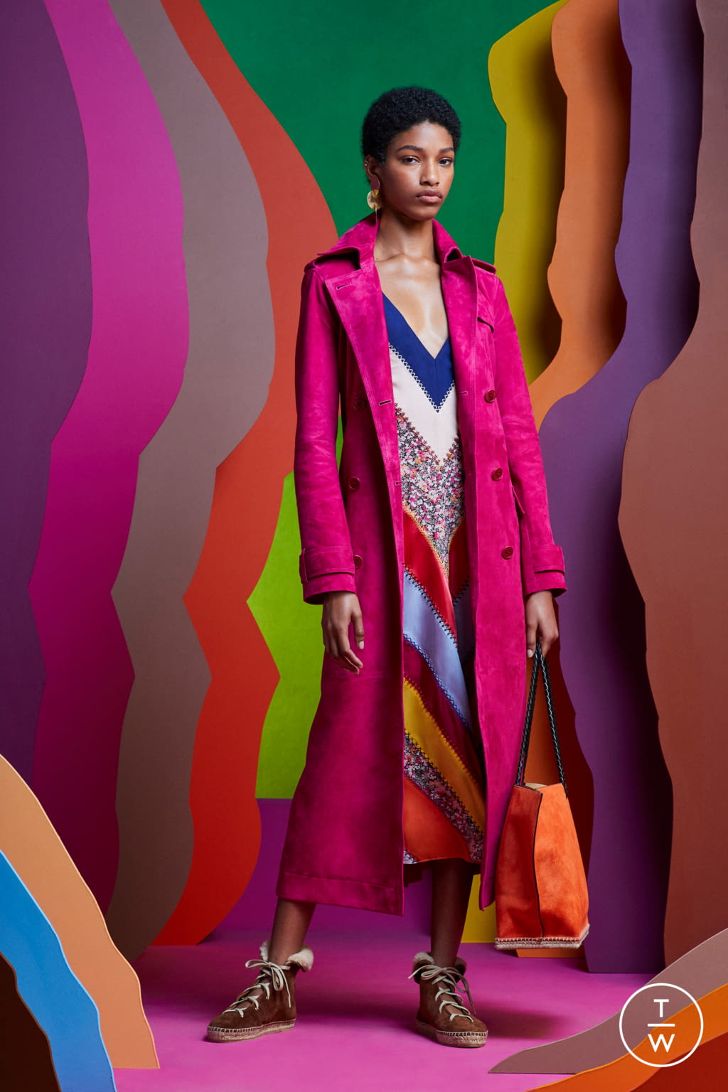Fashion Week Paris Resort 2020 look 26 from the Altuzarra collection 女装