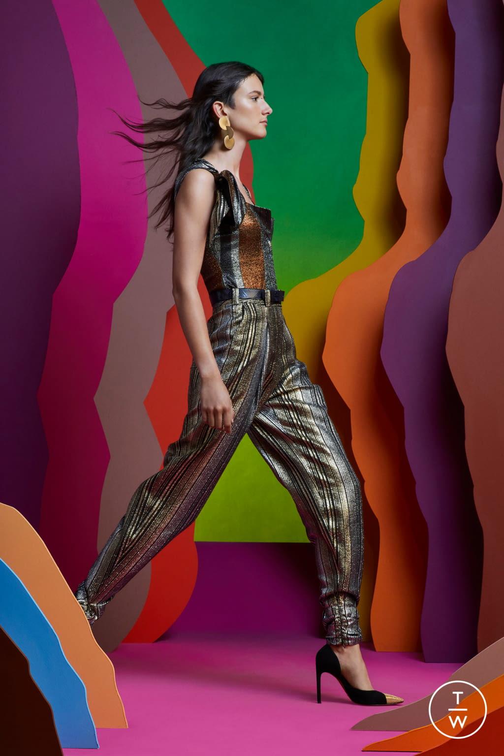 Fashion Week Paris Resort 2020 look 33 from the Altuzarra collection womenswear