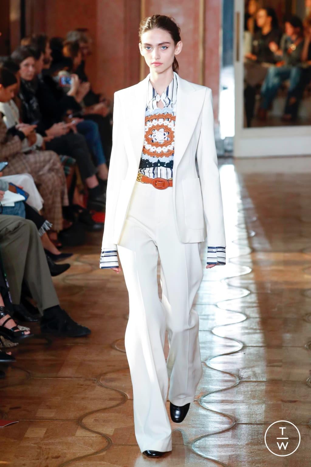 Fashion Week Paris Spring/Summer 2020 look 3 from the Altuzarra collection womenswear