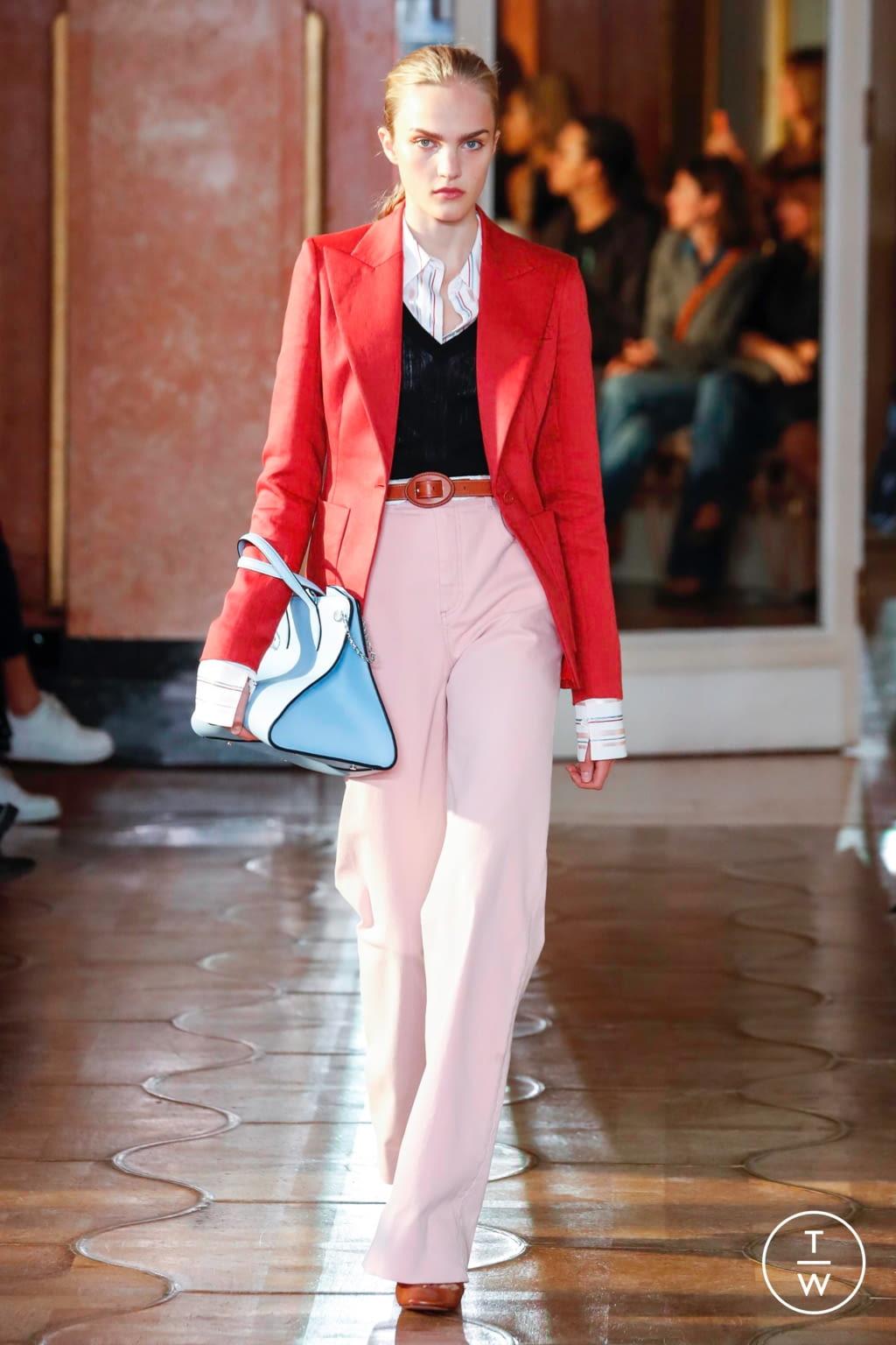 Fashion Week Paris Spring/Summer 2020 look 7 from the Altuzarra collection womenswear
