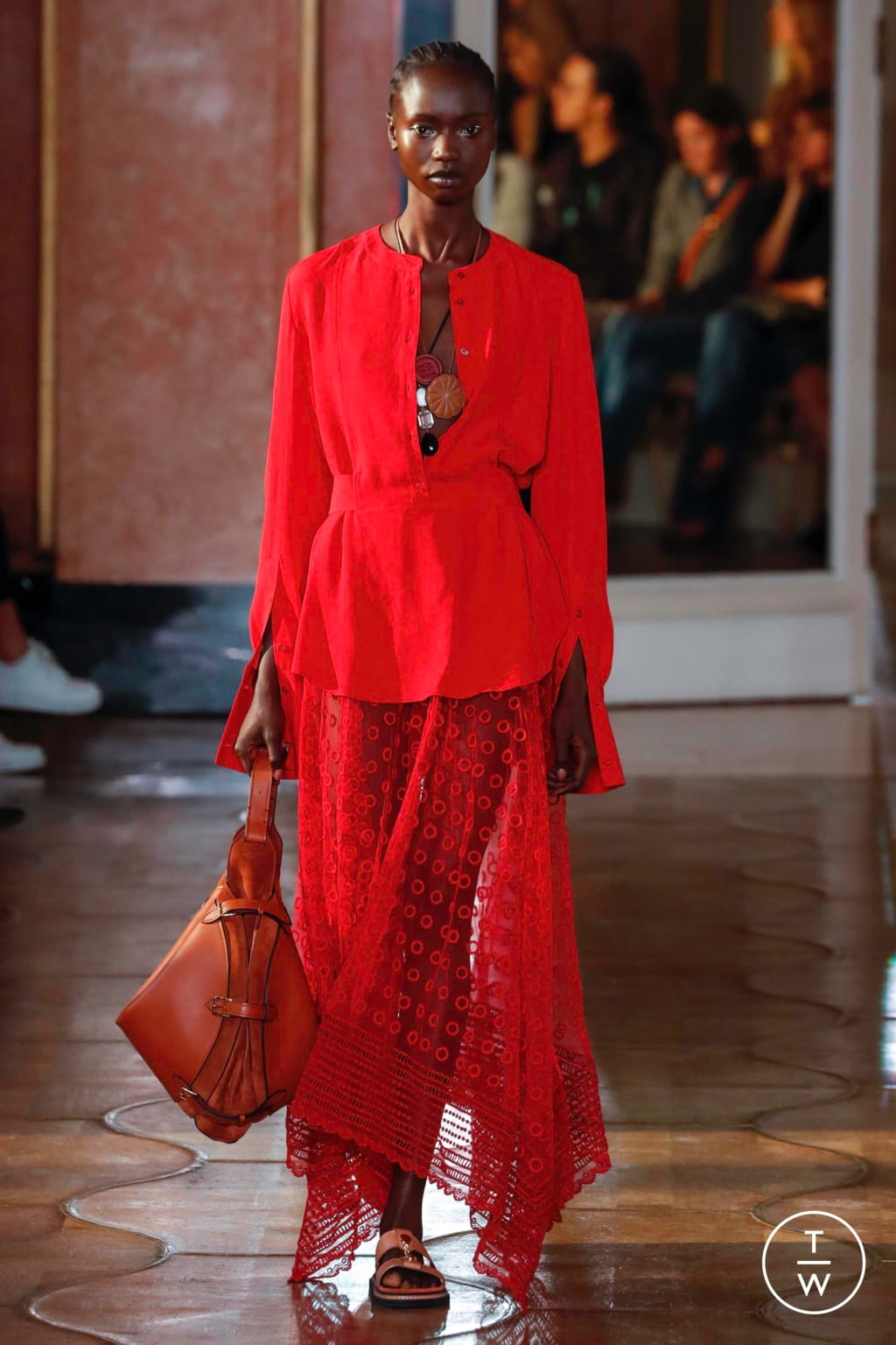 Fashion Week Paris Spring/Summer 2020 look 15 from the Altuzarra collection womenswear