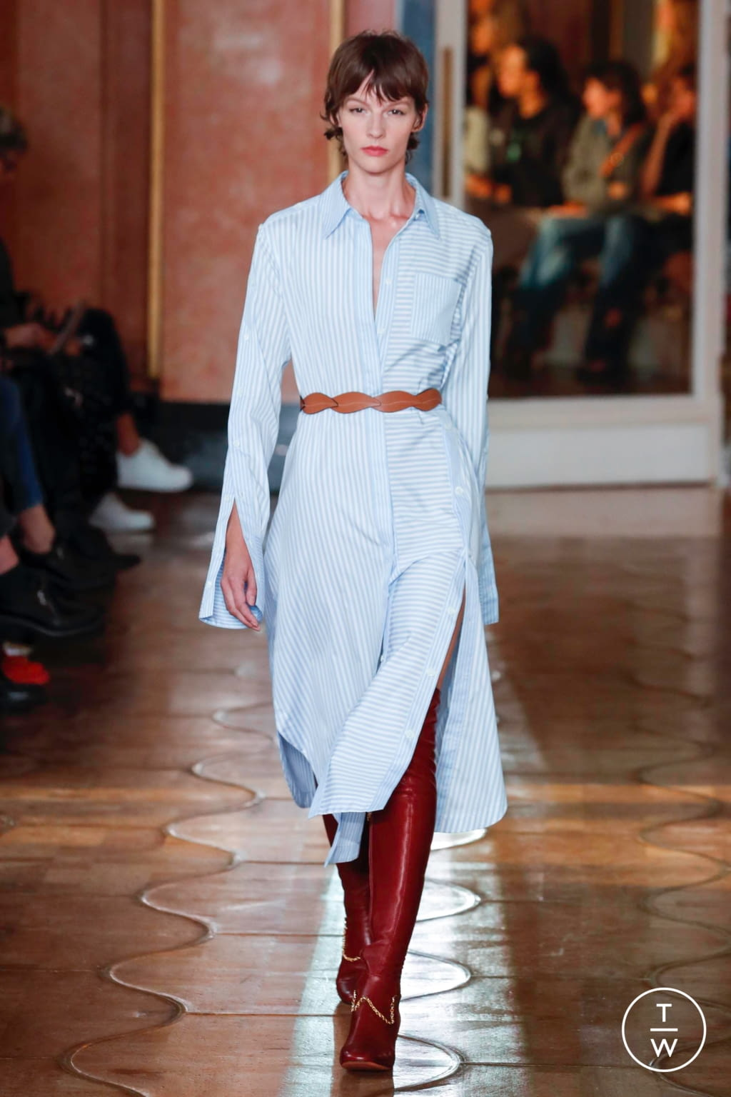 Fashion Week Paris Spring/Summer 2020 look 22 from the Altuzarra collection 女装