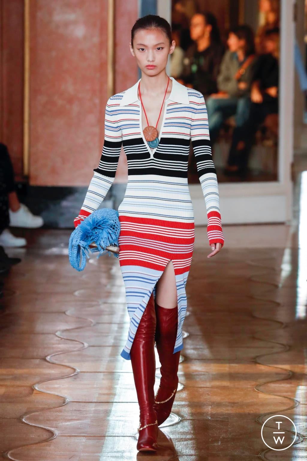 Fashion Week Paris Spring/Summer 2020 look 24 from the Altuzarra collection womenswear