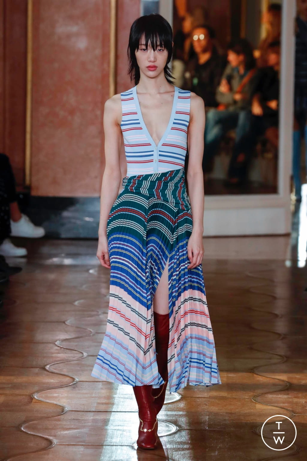 Fashion Week Paris Spring/Summer 2020 look 26 from the Altuzarra collection womenswear