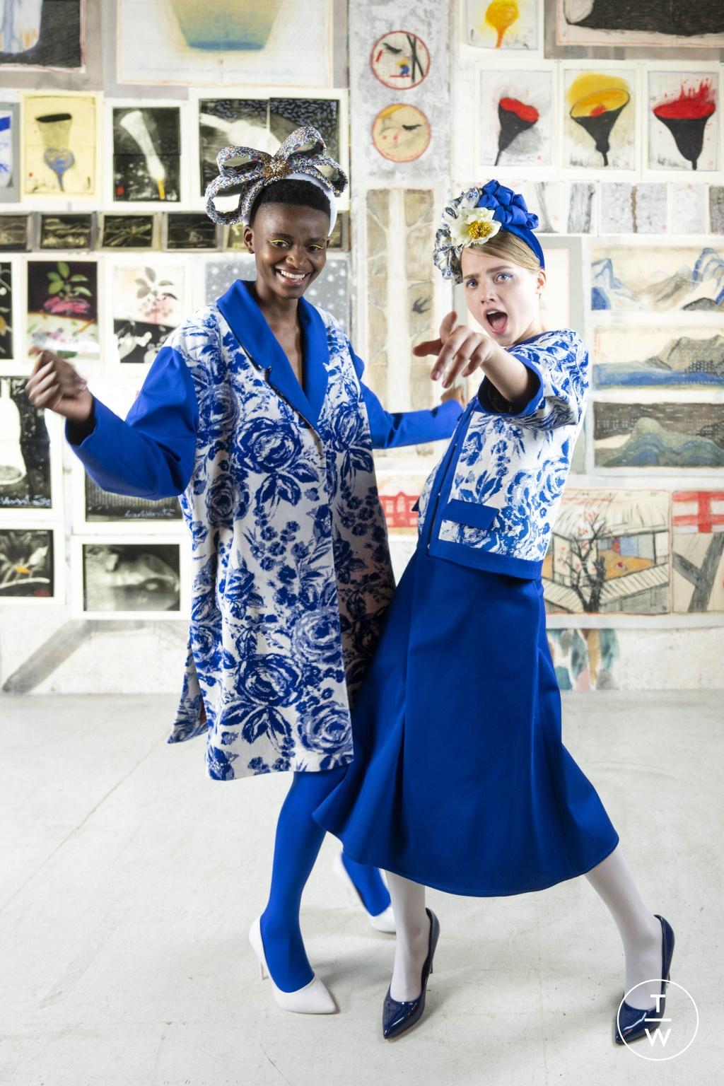Fashion Week Milan Resort 2020 look 1 from the Antonio Marras collection womenswear