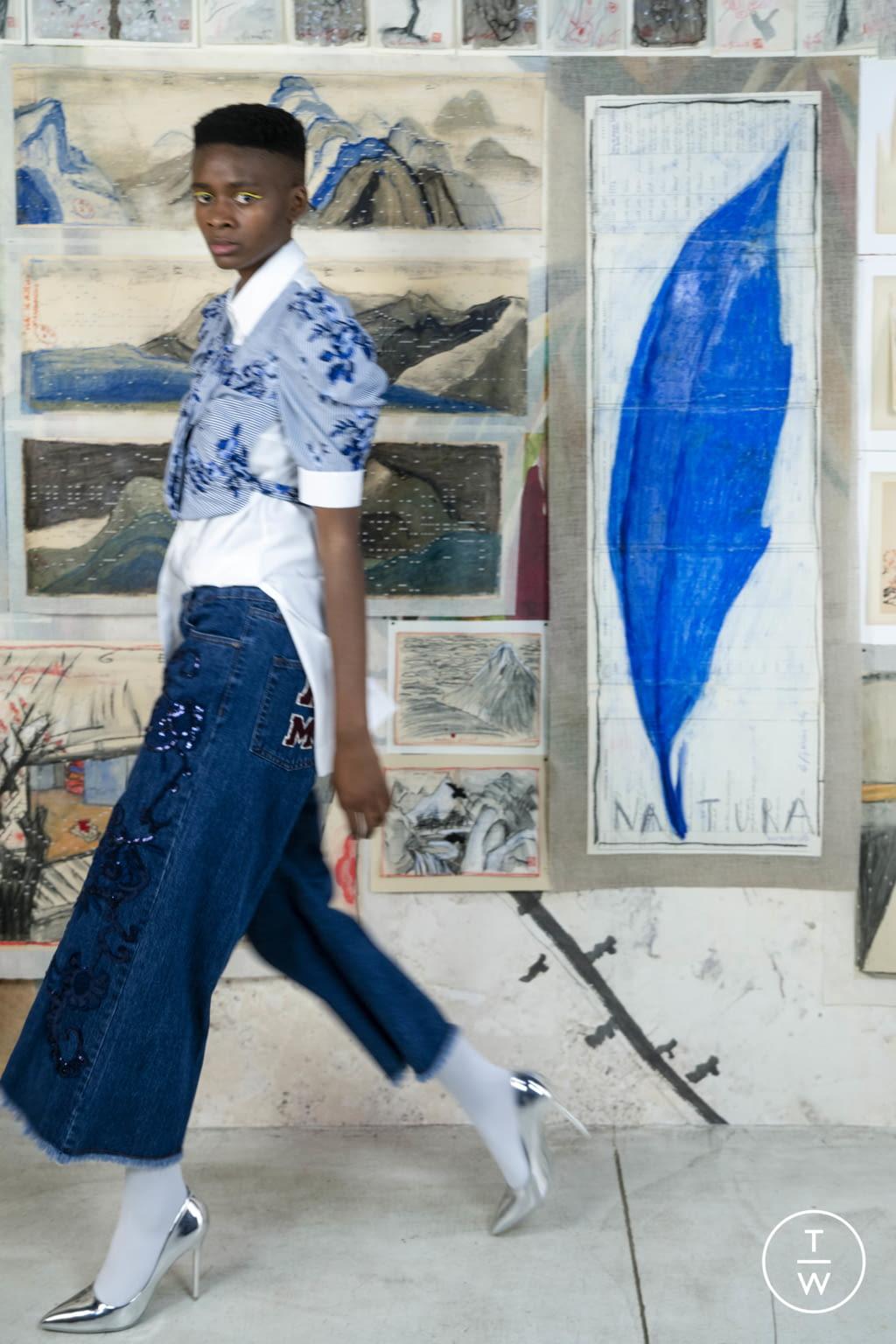 Fashion Week Milan Resort 2020 look 14 from the Antonio Marras collection womenswear