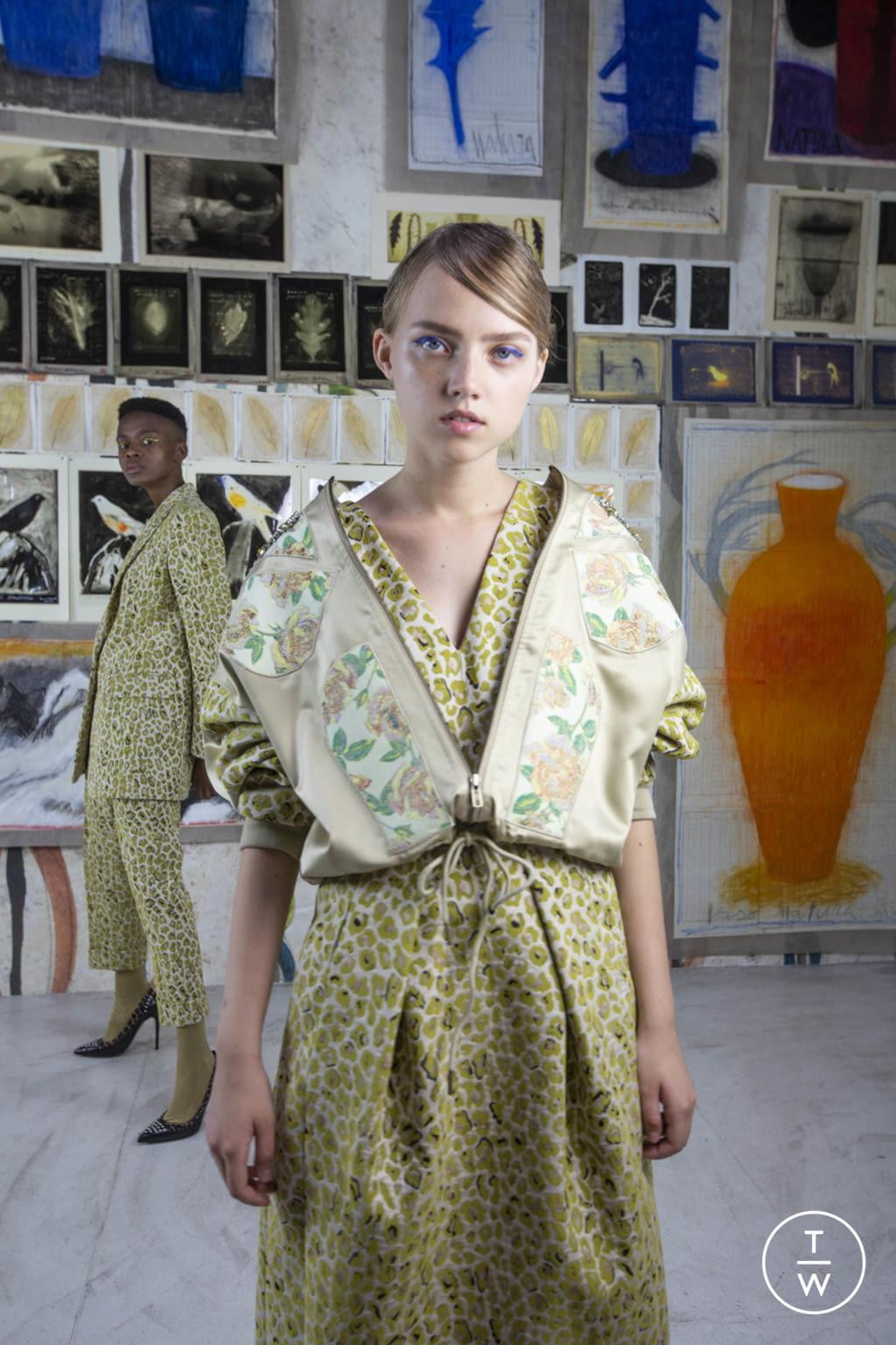 Fashion Week Milan Resort 2020 look 25 from the Antonio Marras collection womenswear