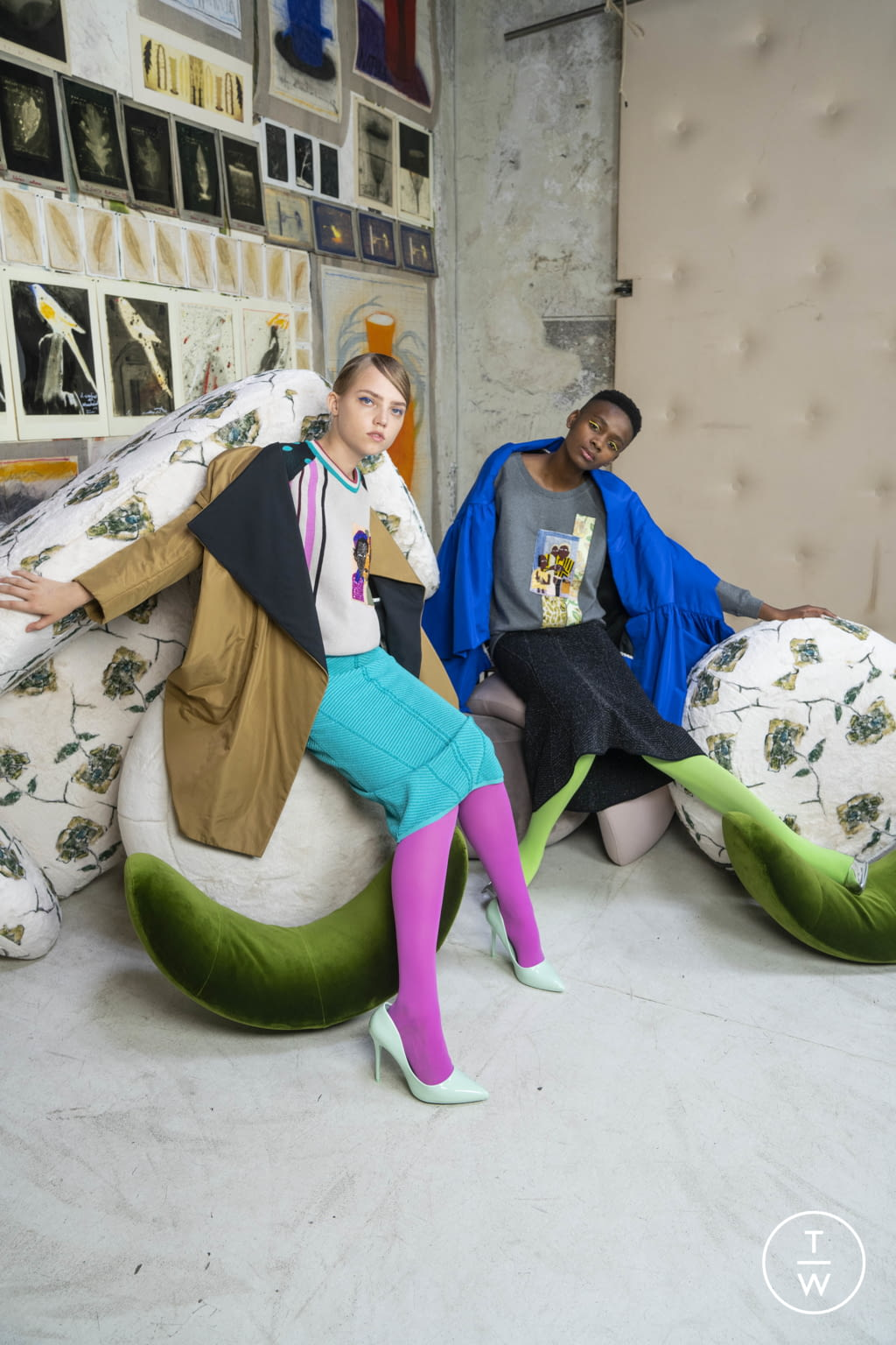 Fashion Week Milan Resort 2020 look 26 from the Antonio Marras collection womenswear