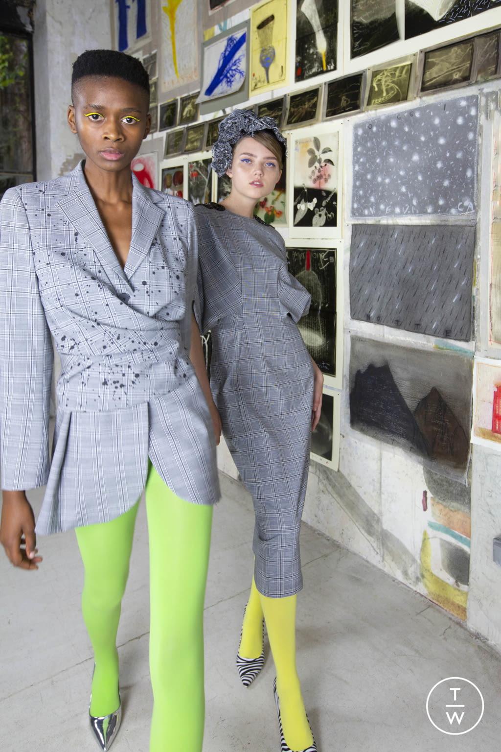 Fashion Week Milan Resort 2020 look 29 from the Antonio Marras collection womenswear