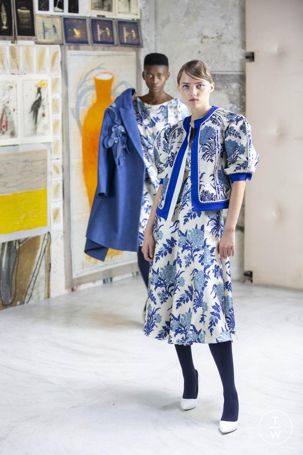 Fashion Week Milan Resort 2020 look 2 from the Antonio Marras collection womenswear