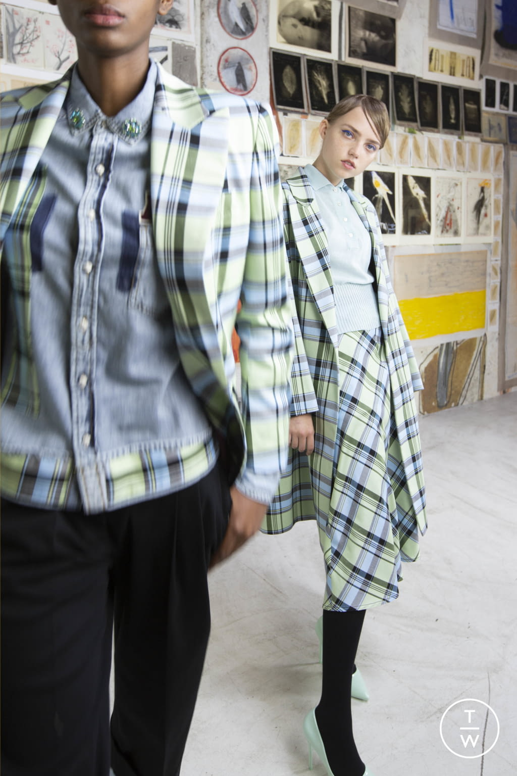 Fashion Week Milan Resort 2020 look 5 from the Antonio Marras collection womenswear