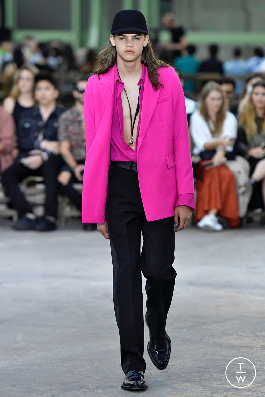 Fashion Week Paris Spring/Summer 2020 look 36 from the Ami collection menswear