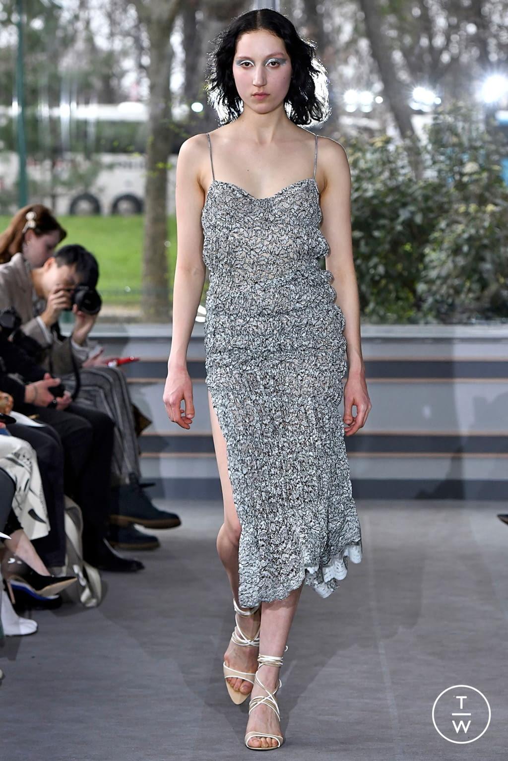 Fashion Week Paris Fall/Winter 2019 look 15 de la collection Anaïs Jourden womenswear