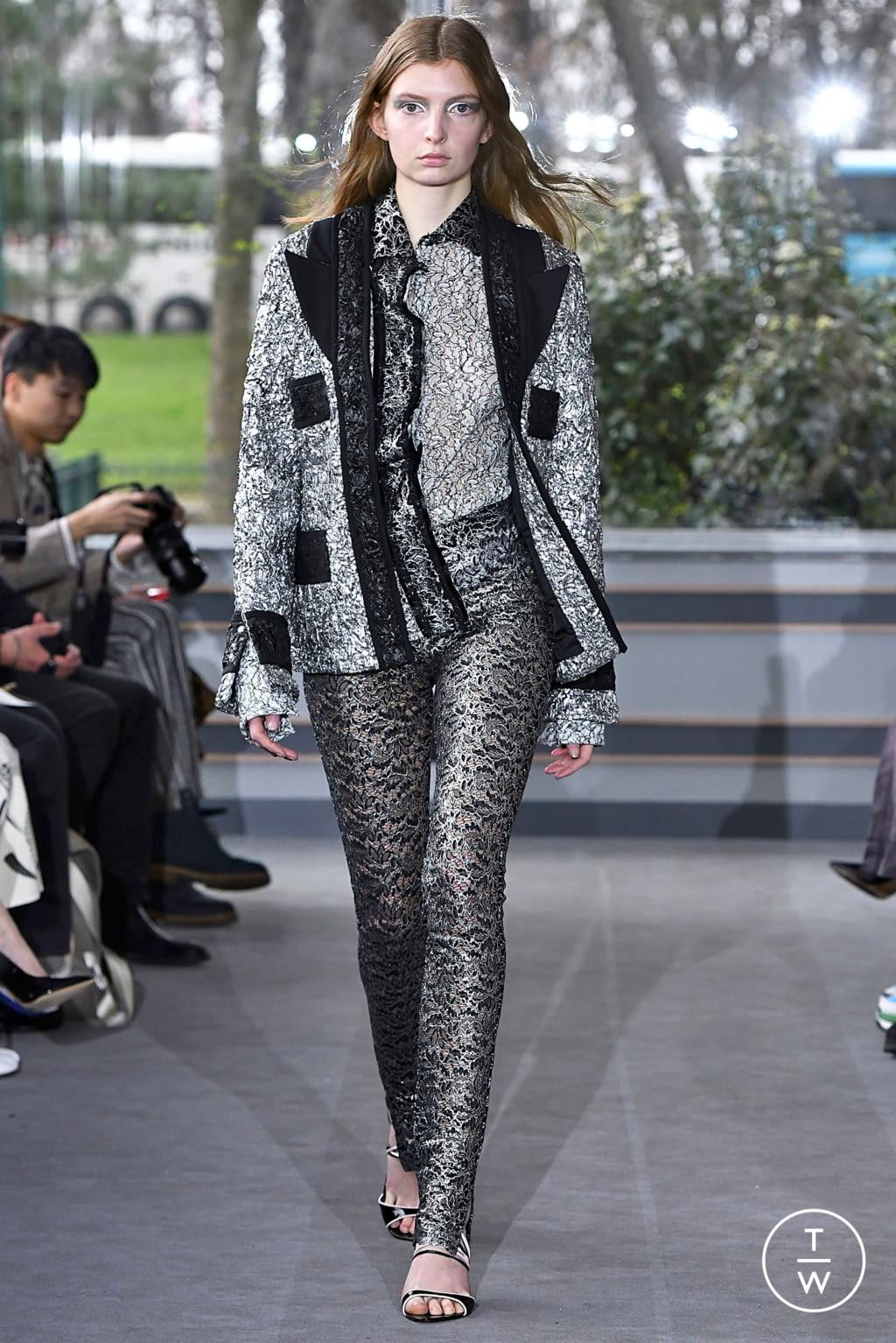 Fashion Week Paris Fall/Winter 2019 look 16 de la collection Anaïs Jourden womenswear