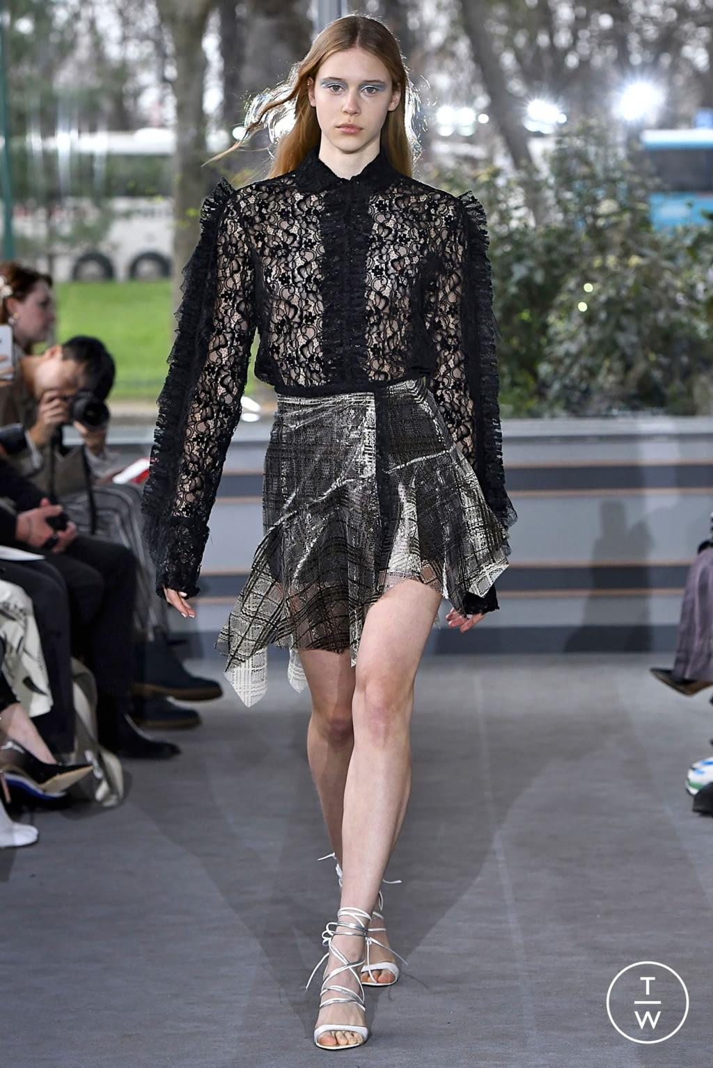 Fashion Week Paris Fall/Winter 2019 look 17 de la collection Anaïs Jourden womenswear