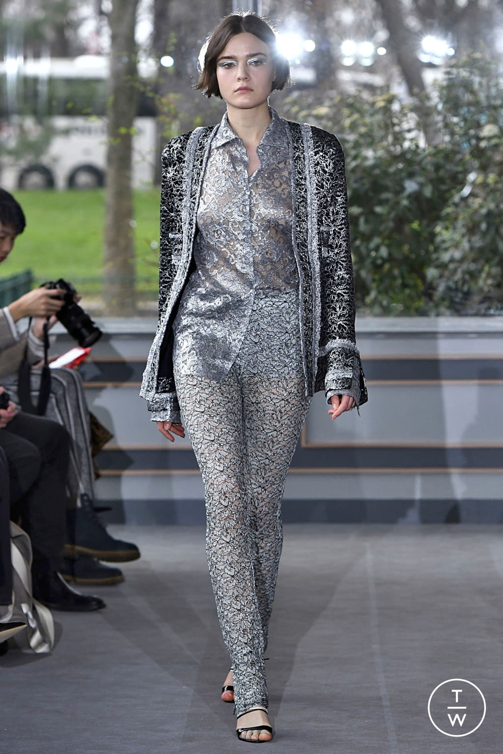Fashion Week Paris Fall/Winter 2019 look 18 from the Anaïs Jourden collection 女装