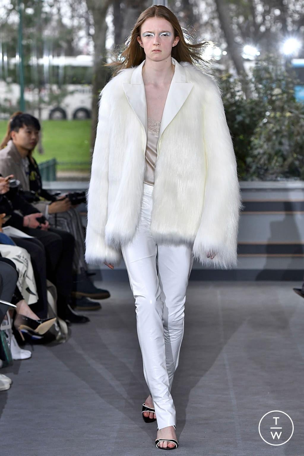 Fashion Week Paris Fall/Winter 2019 look 20 de la collection Anaïs Jourden womenswear