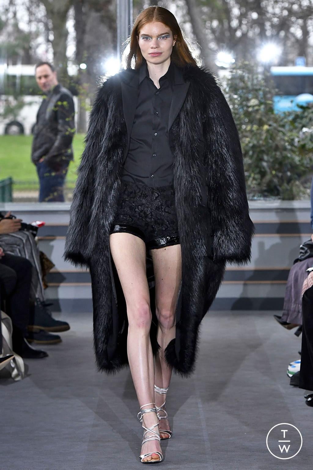 Fashion Week Paris Fall/Winter 2019 look 22 de la collection Anaïs Jourden womenswear
