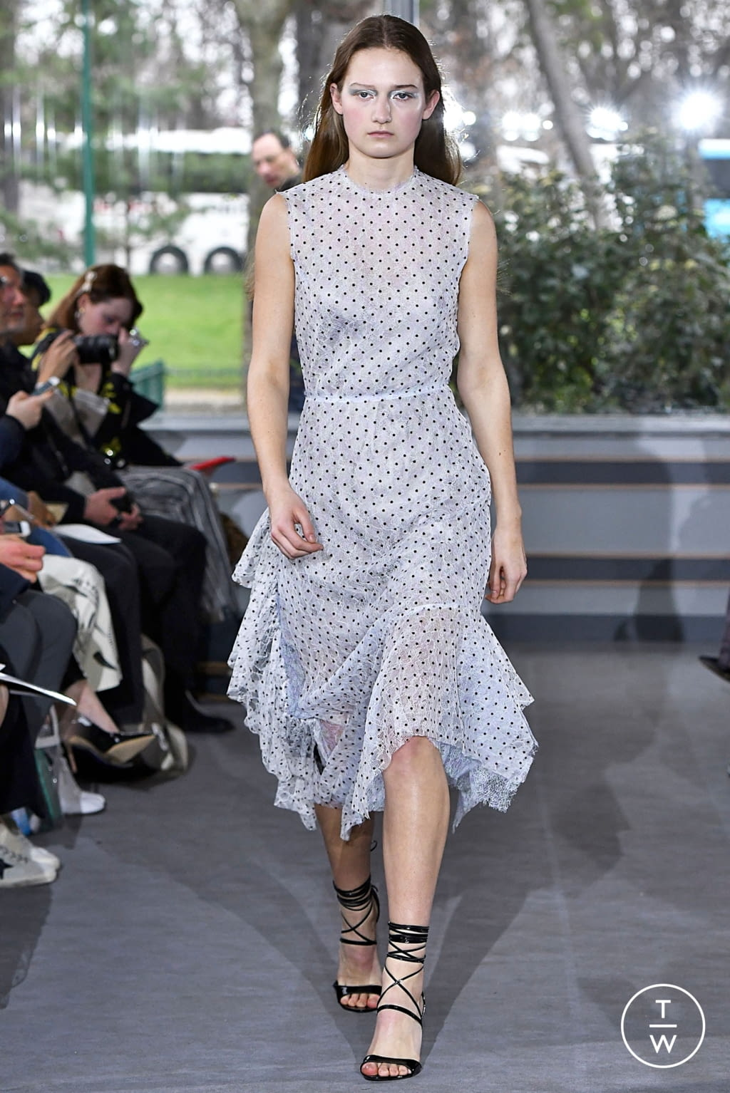 Fashion Week Paris Fall/Winter 2019 look 30 from the Anaïs Jourden collection womenswear
