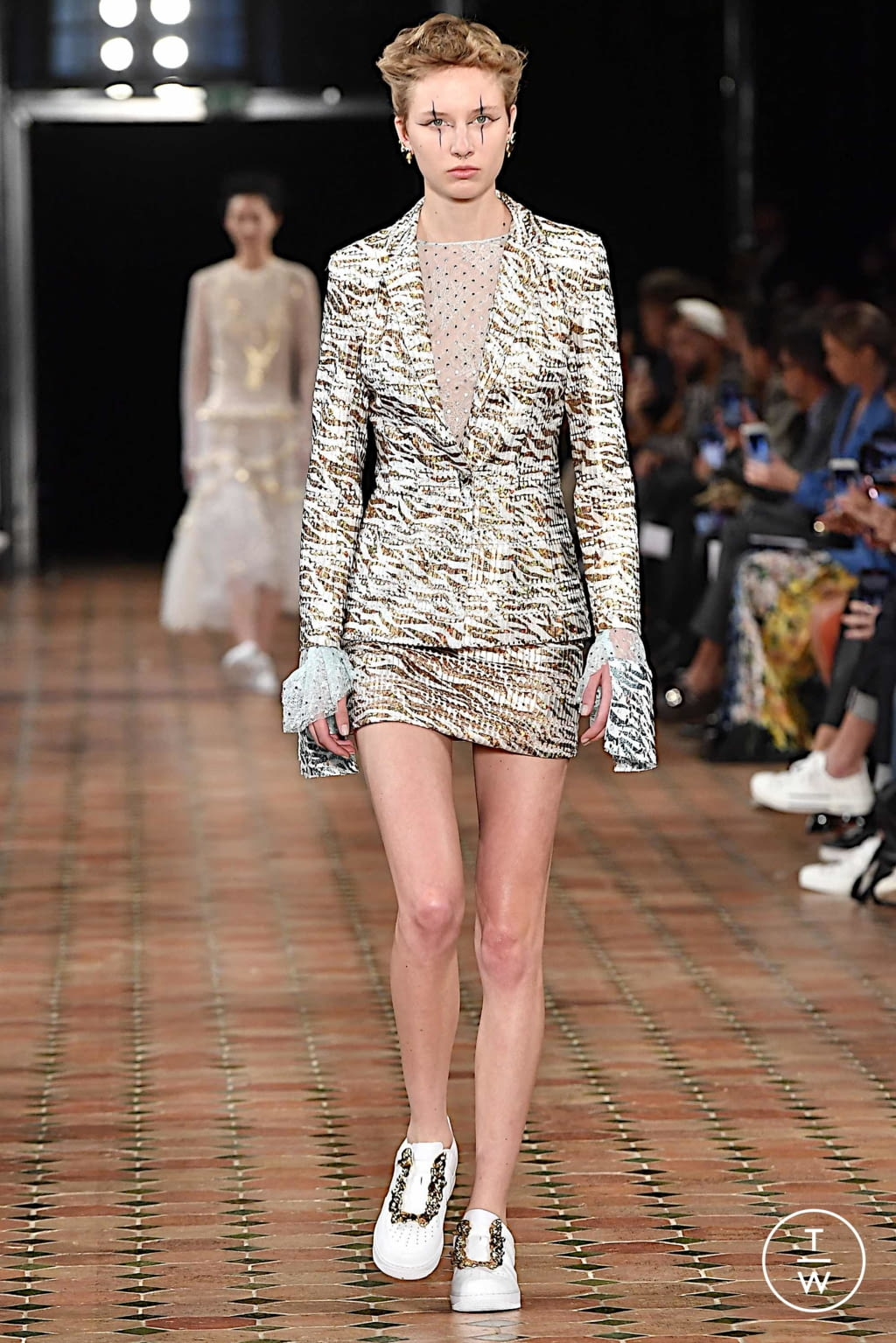 Fashion Week Paris Spring/Summer 2020 look 1 from the Anaïs Jourden collection 女装