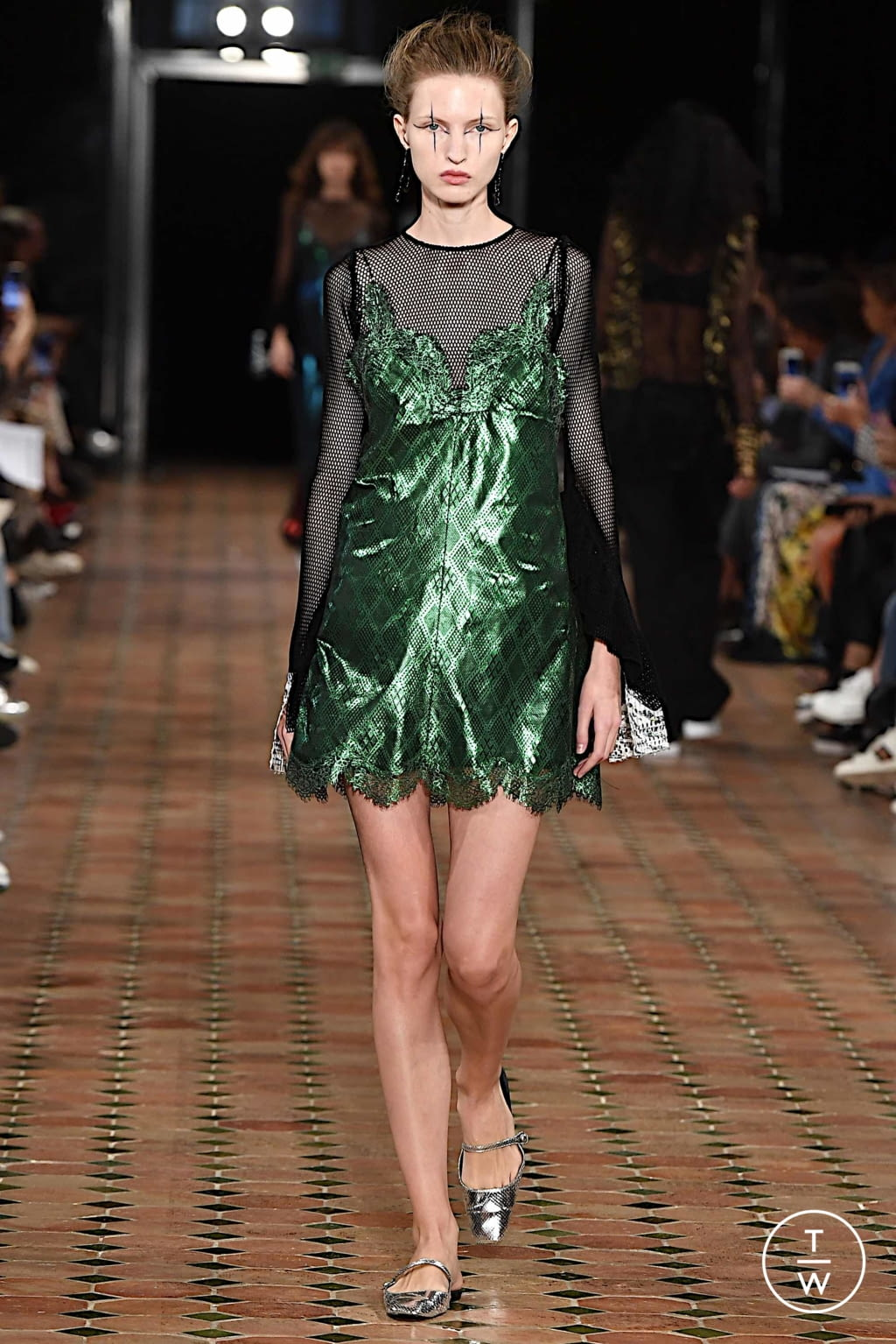 Fashion Week Paris Spring/Summer 2020 look 20 from the Anaïs Jourden collection 女装